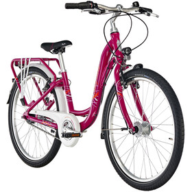 "Puky Skyride Light 24"" Juniorcykel Barn 7-växlad pink"